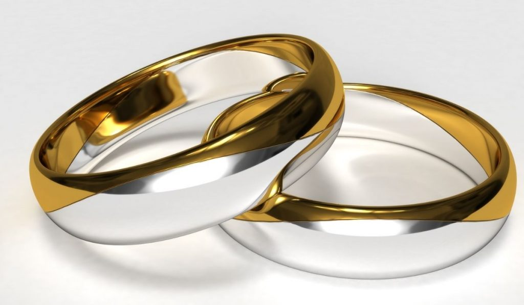 Gold-Plated Silver Ring