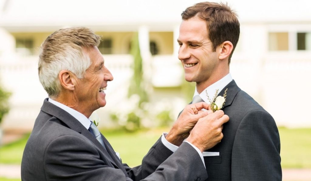 Grooms-Father